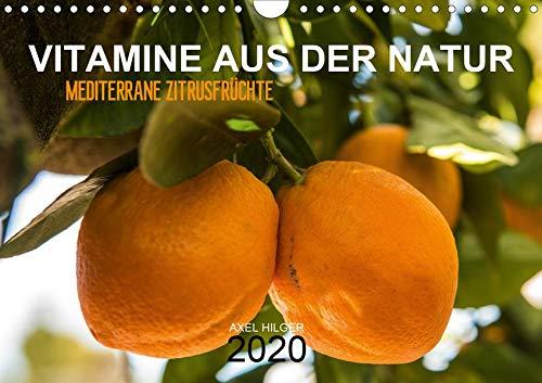VITAMINE AUS DER NATUR (Wandkalender 2020 DIN A4 quer): Vitamine gehören zu unserer täglichen Nahrung und sind unverzichtbar in unserem Nahrungsplan ... (Monatskalender, 14 Seiten ) (CALVENDO Natur)