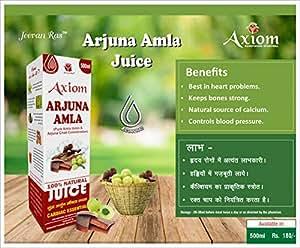 Jeevan Ras Arjuna Amla Swaras Herbal Juice (500 ml)