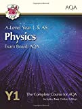 A-Level Physics for AQA: Year 1 & AS Student Book with Online Edition (CGP A-Level Ph...