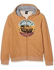 Rip Curl Surf Van Hz Fleece - Sudadera para niño, color amarillo, talla 16