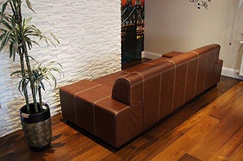 Super Lange Echtleder 3 Sitzer Sofa-180921150008