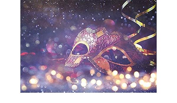 Edcott 9x6ft Maskerade Party Hintergrund Deluxe Bokeh Kamera