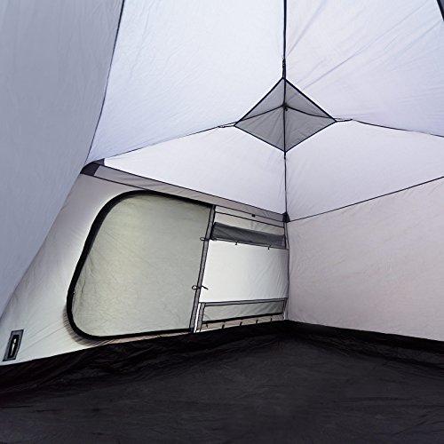 Qeedo Quick Villa 5, Sekundenzelt für 5 Personen, Familien-Zelt mit Stehhöhe - grau - 8
