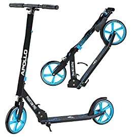 Apollo Monopattino XXL Wheel 200 mm - Phantom PRO è Un City Scooter di Lusso, City-Roller Pieghevole e con Altezza Regolabile, Monopattino, Kickscooter per Adulti e Bambini