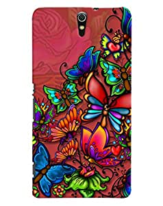 FurnishFantasy 3D Printed Designer Back Case Cover for Sony Xperia C5 ultra,Sony Xperia C5 ultra Dual
