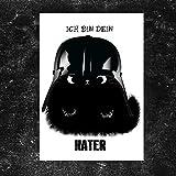 TinyTami ★ Witzige Katzen Postkarte ★ Kater MOO ★
