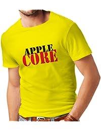 N4248 Männer T-Shirt Apple Core