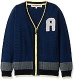 RED WAGON Jungen Sport Pullover College Cardi, Blau (Navy), 110 (Herstellergröße: 5 Jahre)