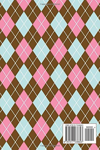 Pink Brown Green Argyle Pattern: (Website Password Organizer ) Never Worry About Forgetting Your Website Password or Login Again!