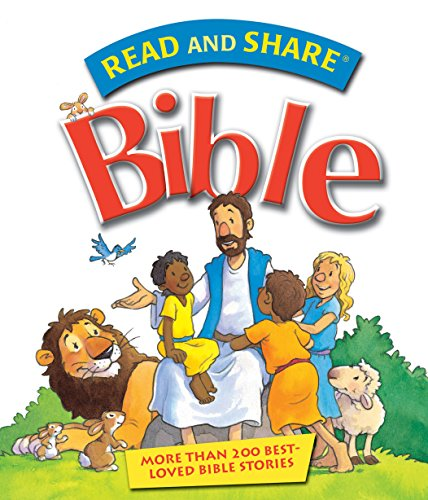 Read and Share Bible: Over 200 Best Loved Bible Stories (Read and Share (Tommy Nelson)) (English Edition)