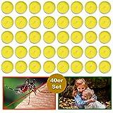 esto24 40er Set Citronella Duftlichter Zitrone Teelichter Outdoor Anti Mücken und Insekten Ideal für Balkon, Terrasse, Garten und Camping