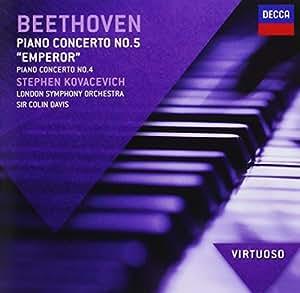 "Beethoven : Concertos pour piano n° 4 et n° 5 ""Empereur"""