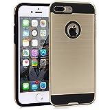 Coque iPhone 7 Plus, IMABAO Résistant [Golden] Protection Finale Contre Les Chutes et Les Impacts pour Apple iPhone 7 Plus