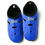 Yoga Aqua Calzino Esercizio Nuotare Antiscivolo Surf, Immersioni Subacquee Calze Snorkeling Stivali, Blu, XL