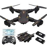 REDPAWZ Drone Con Telecamera VISO XS809S BATTLES SHARKS Pieghevole WIFI FPV HD 720P APP Mobile Controllo...