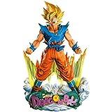 Banpresto - Figurine DBZ - Son Goku Super Saiyan Super Master Stars Piece Diorama 20cm - 3296580262298