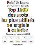 Telecharger Livres Top 1000 des mots les plus utilises en anglais Volume 10 mots 901 1000 (PDF,EPUB,MOBI) gratuits en Francaise