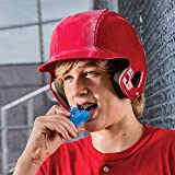 Shock Doctor Double Braces Strapless Mouthguard for Adults - Blue - Mouthguard Designed for Playing Sports: Rugby, MMA, Boxing, Lacrosse, Basketball and Other Contact Sports.