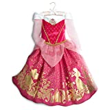 Disney Dornröschen - Aurora Kostüm für Kinder , Größe 5-6 Jahre, Offizielle Princess Kostüm,