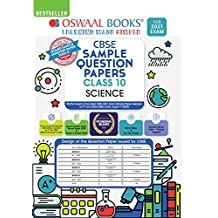 Oswaal CBSE Sample Question Paper Class 10 Science Book (Reduced Syllabus for 2021 Exam)