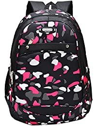 EOZY Kids Backpack Cartable à Dos Enfant Camouflage Primaire Sac à Dos Scolaire Garçon Fille