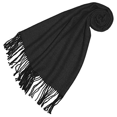 LORENZO CANA High End Luxus Schal Schaltuch aus der feinsten Alpakawolle von der ersten Schur 100% Alpaka Alpakaschal flauschig weich -