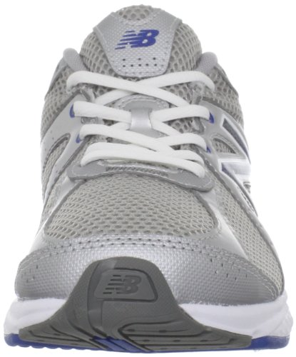 New Balance - Mens 665 Cushioning Walking Shoes Silver with Blue