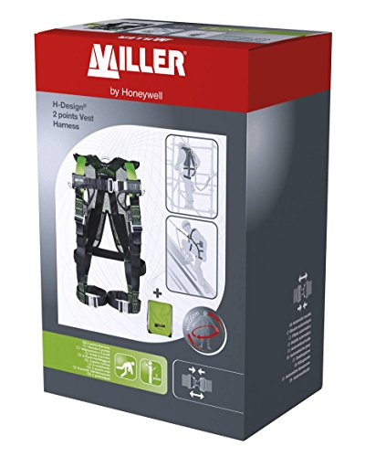 Honeywell 1034077 Miller H Design 2P Vest Harness M/L