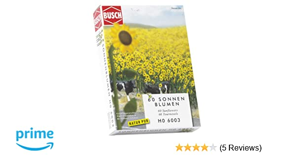 Busch 6003-1//87 Neu 60 Sonnenblumen H0 Sonnenblumenfeld