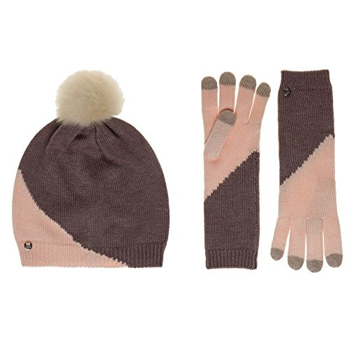 Ugg® Australia Hat And Smart Glove Damen Geschenkset Pink