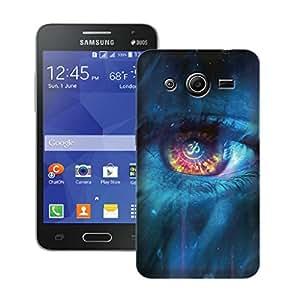 Zapcase Printed Back Case For Samsung Core 2