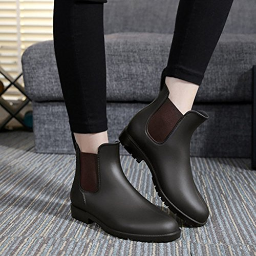 fereshte ,  Damen Chelsea Boots Braun
