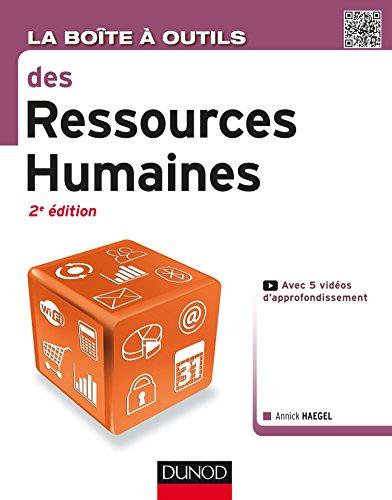 La Boîte à outils des Ressources Humaines - 2e éd.