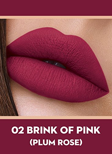 Sugar Smudge Me Not Liquid Lipstick 4.5 ml (02 Brink Of Pink)