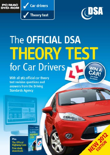 Official DSA Theory Test for Car Drivers DVD-ROM