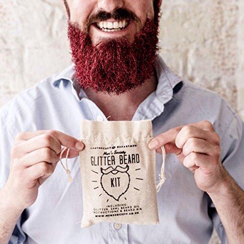 Glitter Beard Kit–Geschenk Maestro
