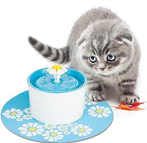 Nwyjr Fontaine pour animal domestique intelligent Fontaine pour eau potable