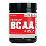 Medisys Instantized BCAA 6000 Powder (400gm / 0.89lbs, Fruit Punch)