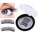 Magnetische Wimpern, 2 Magnet Wimpern, Künstliche Wimpern, Magnetic Eyelashes, falsche Wimpern, Wiederverwendbar, NEU