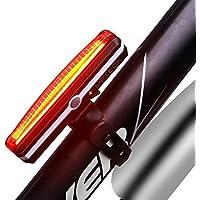 MPTECK @ Bicicleta luz USB recargable impermeable Bike Tail Light luces rojas estupendas luces de seguridad de la bicicleta Luces delanteras y traseras LED Se adapta a cualquier bicicleta Ciclismo