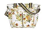 Kupu Wickeltasche,, trendige laminiert Wasser Widerstand Multifunktions-Schulter Baby Windel Tasche tragbar Shopping Handtasche mit Wickelunterlage, kinderwagenhalter, Schlüssel Gurt und isolierten Taschen