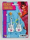 Pendientes guitarra de Rocker pendientes guitarra de Rocker