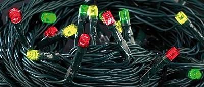 Lunartec Solar-LED-Lichterkette, 5 m, mit 50 bunten LEDs von Lunartec auf Lampenhans.de