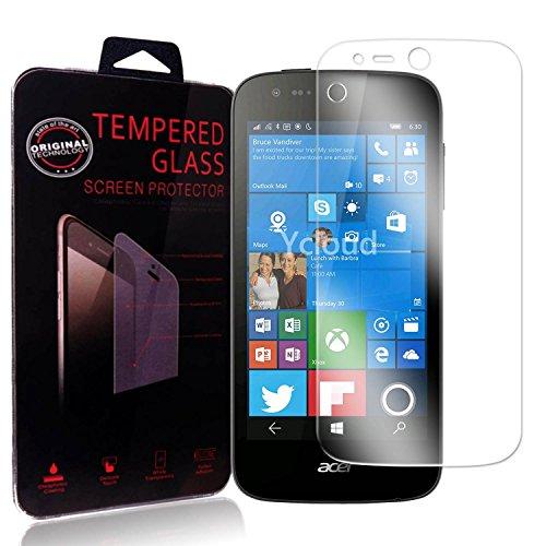 Ycloud Panzerglas Folie Schutzfolie Bildschirmschutzfolie für Acer Liquid M330 screen protector mit Härtegrad 9H, 0,26mm Ultra-Dünn, Abger&ete Kanten
