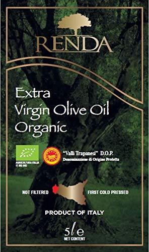 Olio extravergine di oliva biologico renda 5lt