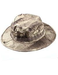 MerryBIY Sport e Outdoor Boonie Sun-shading Unisex Jungle Camo Cappello Da  Pescatore Militare Da a6456f3b4633