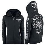 Motörhead England Kapuzenjacke schwarz XL