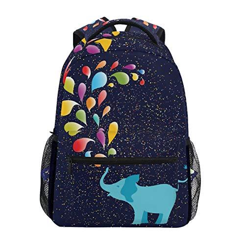 Mochila de Viaje con diseño de Elefante para Estudiantes, niños y niñas