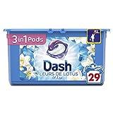 Dash 2en1 Dash 3en1 Lessive en Capsules Fleurs de Lotus/Lys 29Lavages