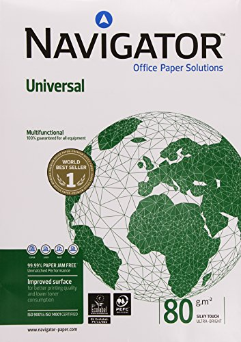 Navigator Universal Paper Multifunctional Ream-Wrapped 80gsm A3 White Ref NAV1017 [500 Sheets]